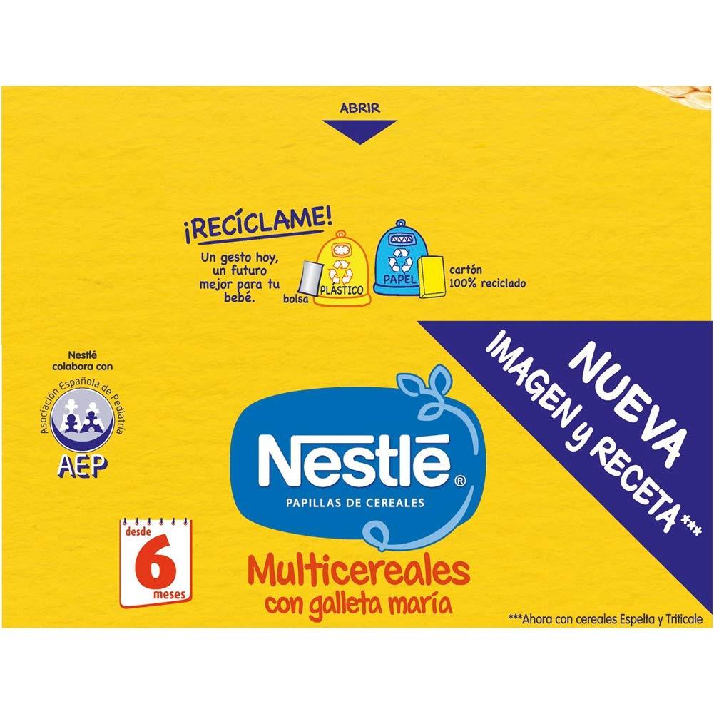 Nestlé Papillas NESTUM Cereales para bebé con miel - 3 papillas de 650g -Total 1950g: Amazon.es: Alimentación y bebidas