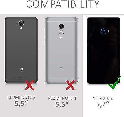 kwmobile Funda compatible con Xiaomi Mi Note 2: Amazon.es: Electrónica