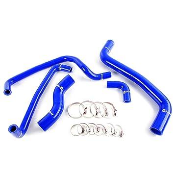 Amazon.com: Silicone Coolant Radiator Hose Kit Fot For Toyota Levin AE111 AE101G Blue: Automotive