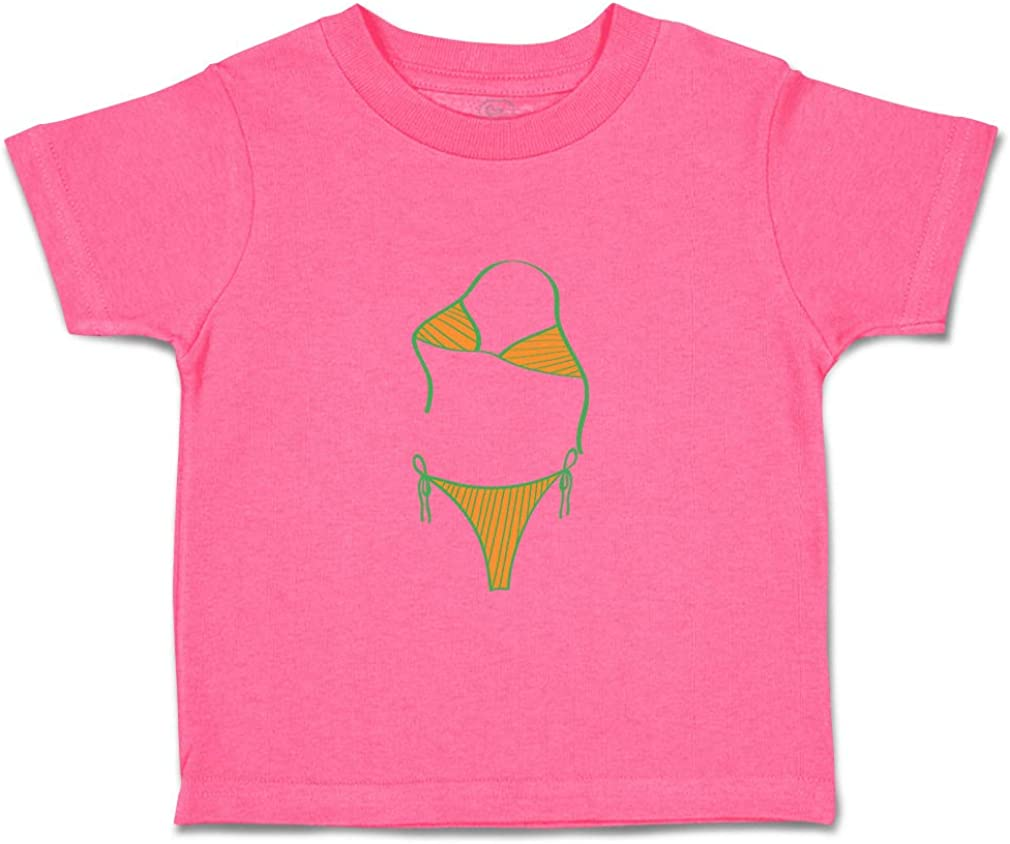 Custom Baby /& Toddler T-Shirt Bikini Cotton Boy /& Girl Clothes Funny Graphic Tee