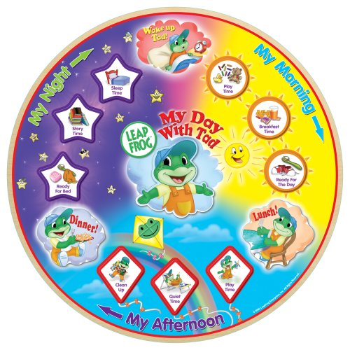 LeapFrog My Day with Tad 12pc Wood Puzzle