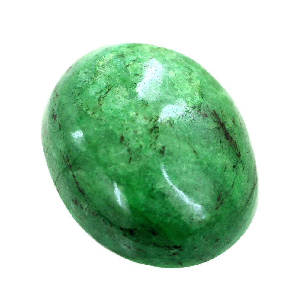 skyjewels Certified 18.00 Carat Natural Green Emerald Panna Gemstone