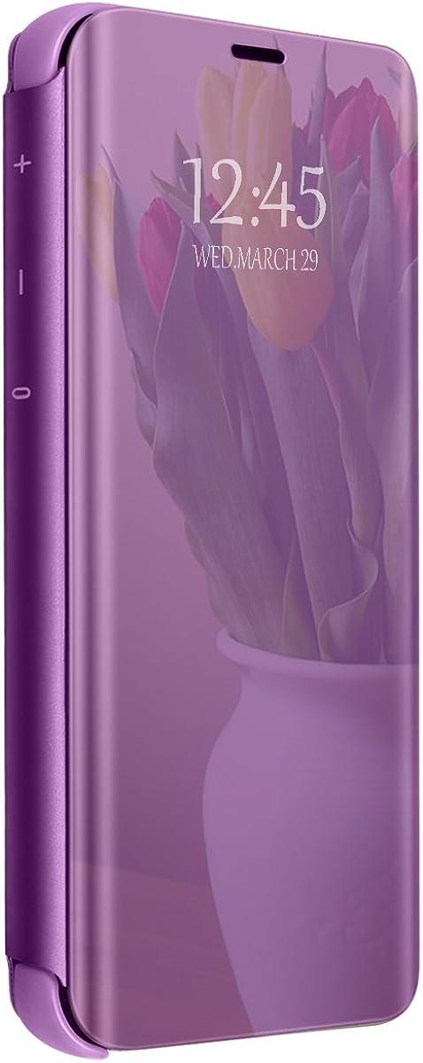 Funda Compatible con Xiaomi Redmi Note 4/Note 4X Carcasa Espejo Mirror Flip Caso Translucent Window View Protector Shock Caja del Teléfono