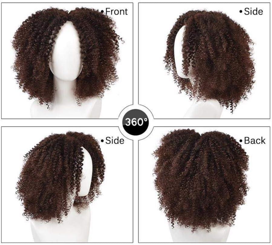 Donne lunghe Afro Ponytail 20 pollici wavy ricci capelli fluttuante Pony coda Kinky riccio onda 120g clip sintetica nelle estensioni