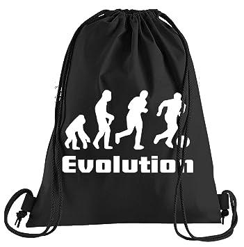 Camiseta de People Evolution Fútbol Bolsa De Deporte – Serigrafiado Bolsa – Una Bonita Funda Bolsa