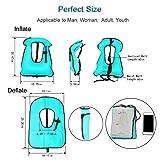 Faxpot Men/ Women Adult Inflatable Life Jacket