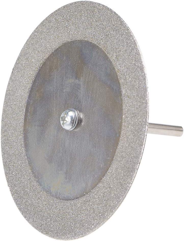 Sourcing map Lot de 10 disques de coupe diamant avec 2 mandrins pour outil rotatif