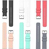 RuenTech Compatible with Garmin Vivomove Band, Silicone Watch Band (20mm Width) Straps for Vivomove HR/Vivomove 3 / Vivomove Luxe/Style/Sport/Classic Smartwatch