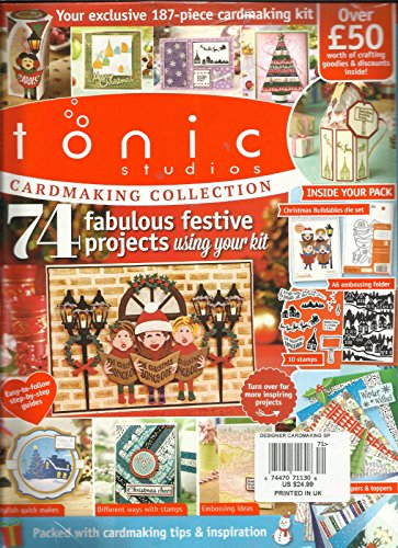 TONIC STUDIOI CARDMAKING COLLECTION, 2017 ISSUE, 3 ALL GIFTS ARE INCLUDED.