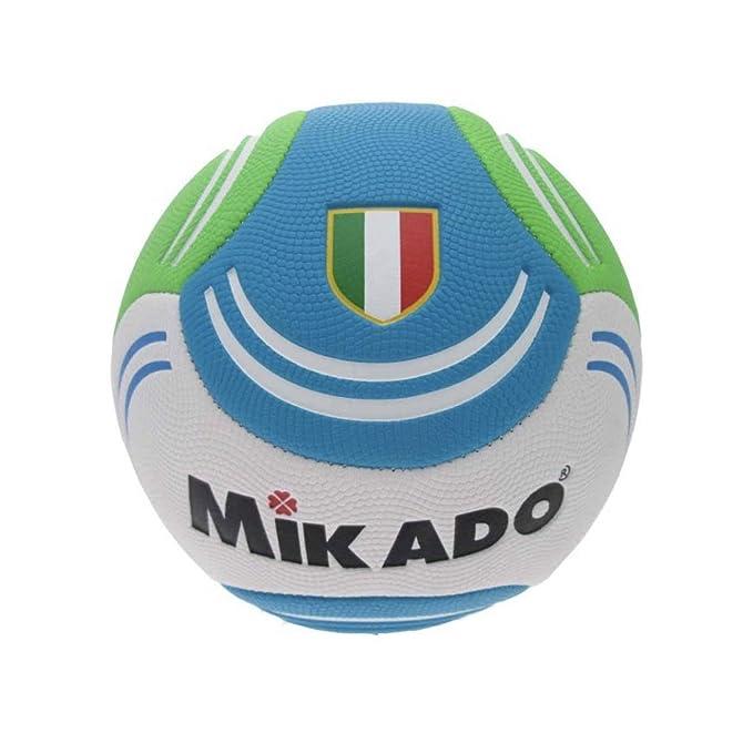 Mikado balón de fútbol Beach Soccer Size 5 Italia, Verde, Size 5 ...
