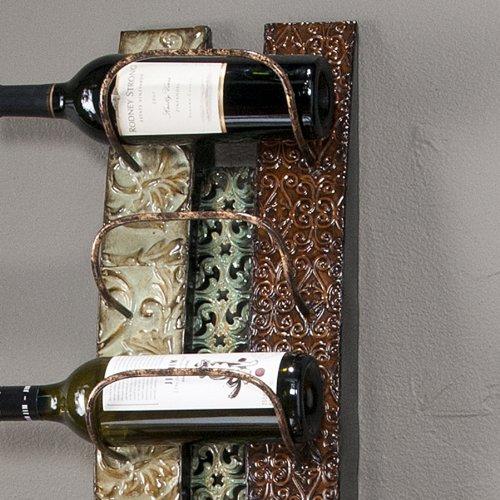 SEI Adriano Wall Mounted Wine Rack