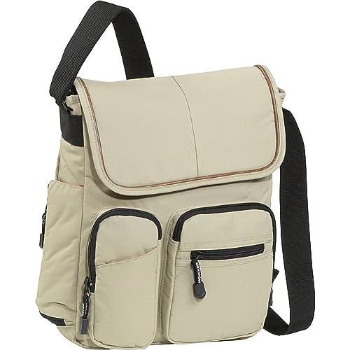 fb3b9d37bbb8 Derek Alexander NS Half Flap (Tan)  Handbags  Amazon.com