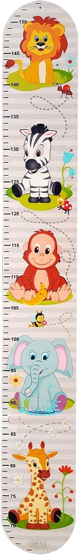K/äfer und Freunde Hess 14604 Messlatte Puzzle aus Holz