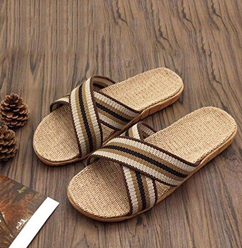 Sagton Zomer Dames Heren Antislip Sandalen Indoor Outdoor Open Teen Flats Home Slippers Zwart