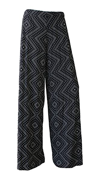 68e68531526 Image Unavailable. Image not available for. Color  WearAll Plus Size  Women s Palazzo Trousers