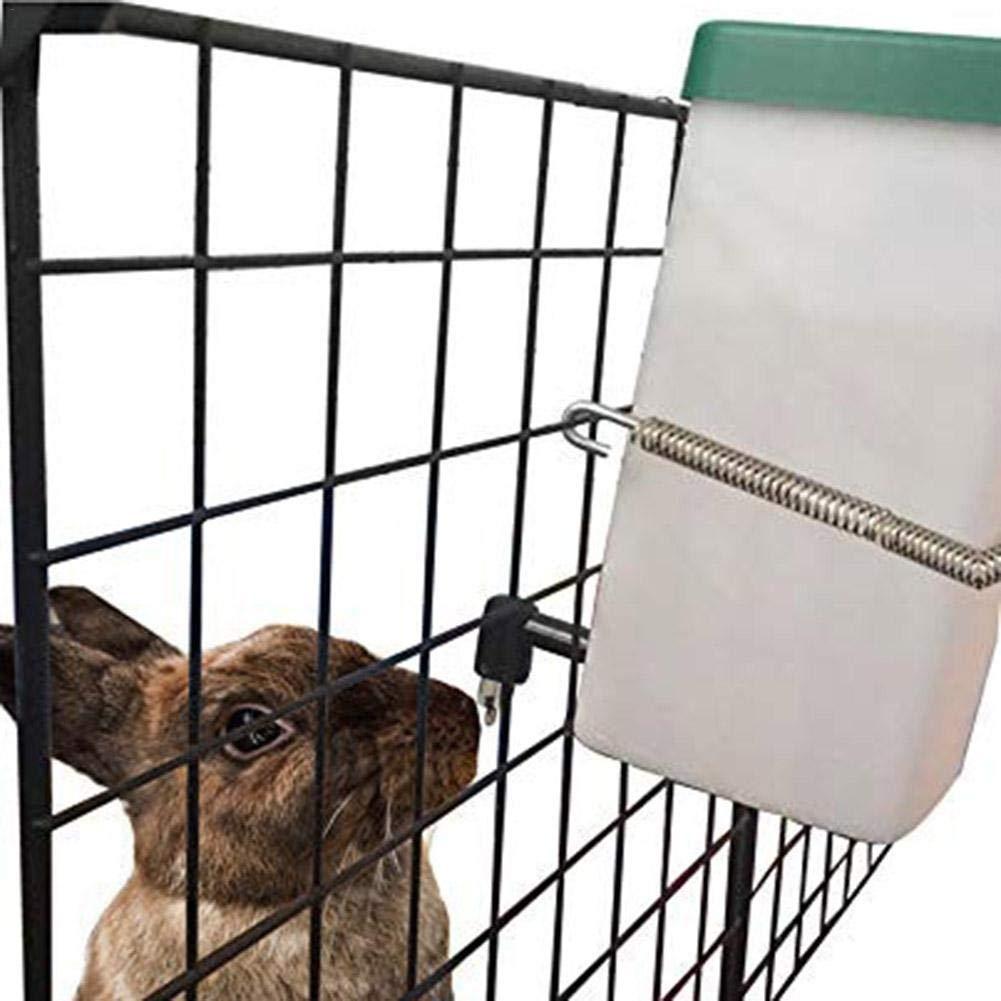 Welcometo Fontanella per Coniglio 1L Pet Distributore Automatico di Acqua Potabile Dispenser per Acqua Kit per Bere a Prova di Perdita per Cuccioli di Criceto economical