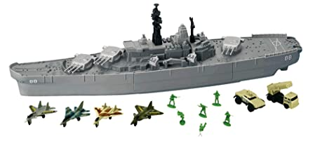 7f003c189d Amazon.com  USS Giant Battleship  Toys   Games