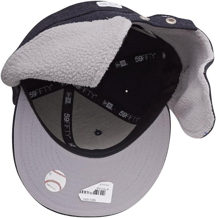 67284e5f58f New Era 5950 NY Yankees Dogear Fitted Baseball Cap (7 5 8