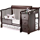 Amazon Com Sorelle Princeton 4 In 1 Convertible Crib