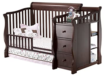 Sorelle Tuscany Mini Siderail Toddler Bed Conversion Kit Cherry