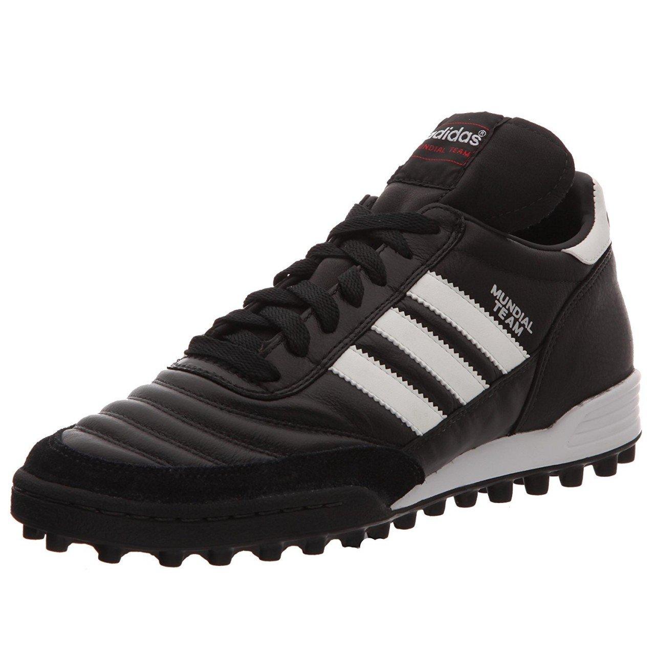 [アディダス] adidas ムンディアル チーム 019228 019228 (ブラック/ランニングホワイト/レッド/22.0) B00P0N4E68 26.5 Black-White