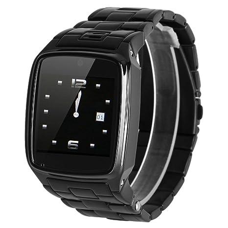 Excelvan PW1-S Reloj de Pulsera Smartwatch (Radio Fm, 2G Sim, Bluetooth