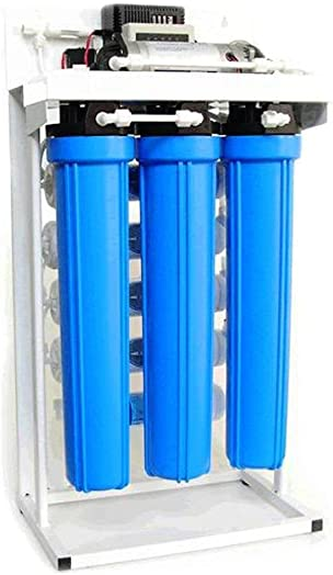 Light Commercial Reverse Osmosis Water Filtration System 400 GPD with Booster Pump 20 Filters