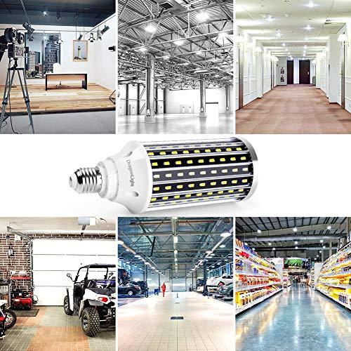 50W Super Bright LED Corn Light Bulbs(400 Watt Equivalent) - E26/E39 Mogul Base LED Bulbs - 6500K Daylight 5000 Lumens… 6