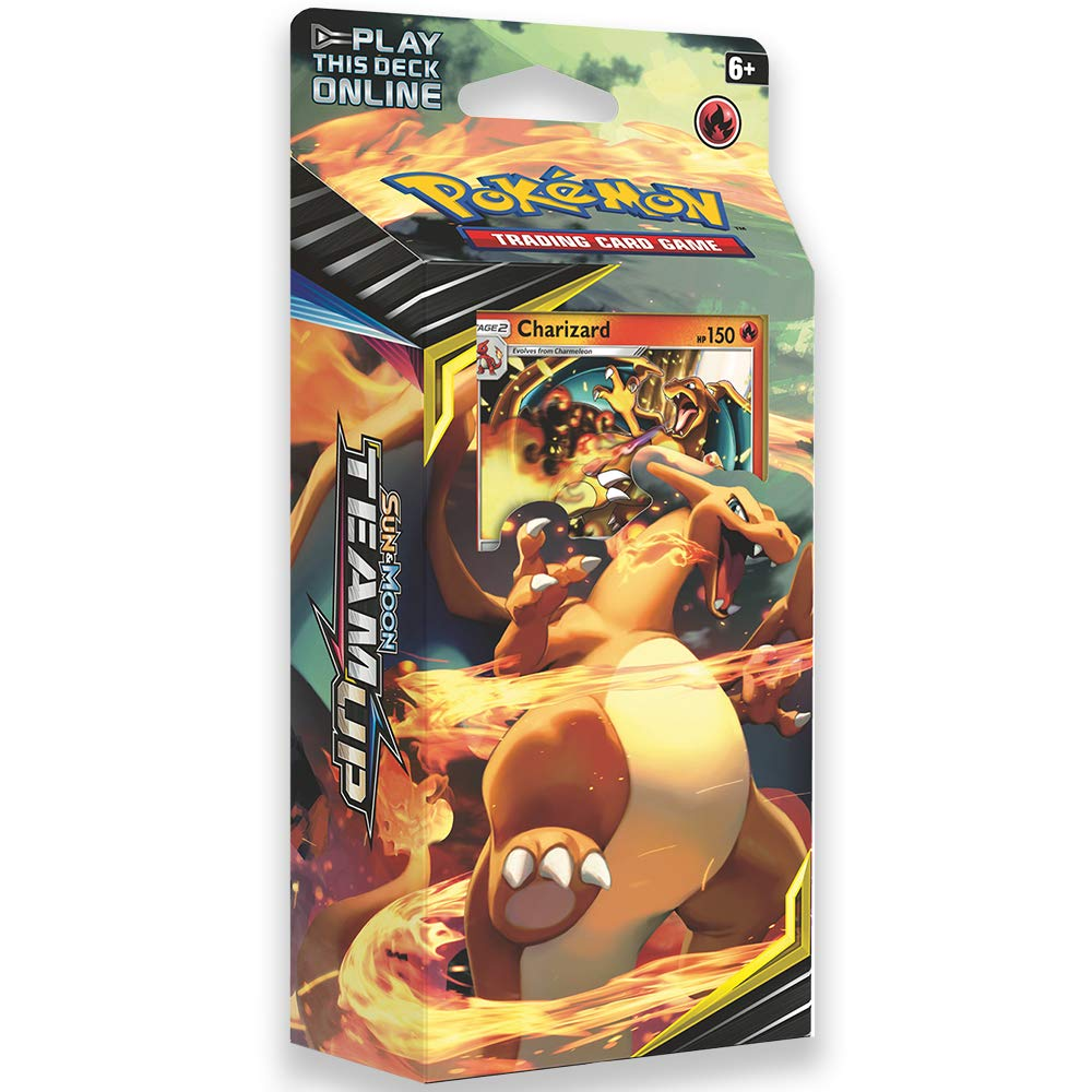 Pokemon TCG: Sun & Moon Team Up, Relentless Flame 60-Card Theme Deck Featuring A Promo Charizard by Pokemon (Image #1)