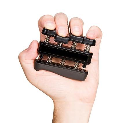 Professional Guitar Hand Finger Exerciser 4 Adjustable Tension Hand Grip Trainer Equipment