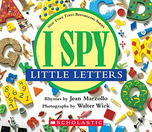 I Spy Little Letters: A Book of Picture Riddles