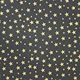 American Crafts DCWV 12'' x 12'' Loose Printed Paper - Gold Stag Star Design -25 Sheets