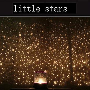 Estrellas Starry Sky LED Luz de noche Proyector Luminaria Luna ...