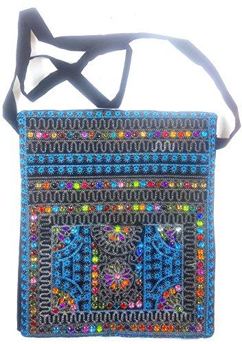 BG112 shoulder cross Sindhi bag Purse Shoulder Fashion Embroidered Handmade Bag Vintage wqYgavq