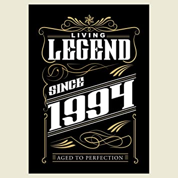 1994 living legend since 1994 23rd birthday greetings card amazon 1994 living legend since 1994 23rd birthday greetings card m4hsunfo