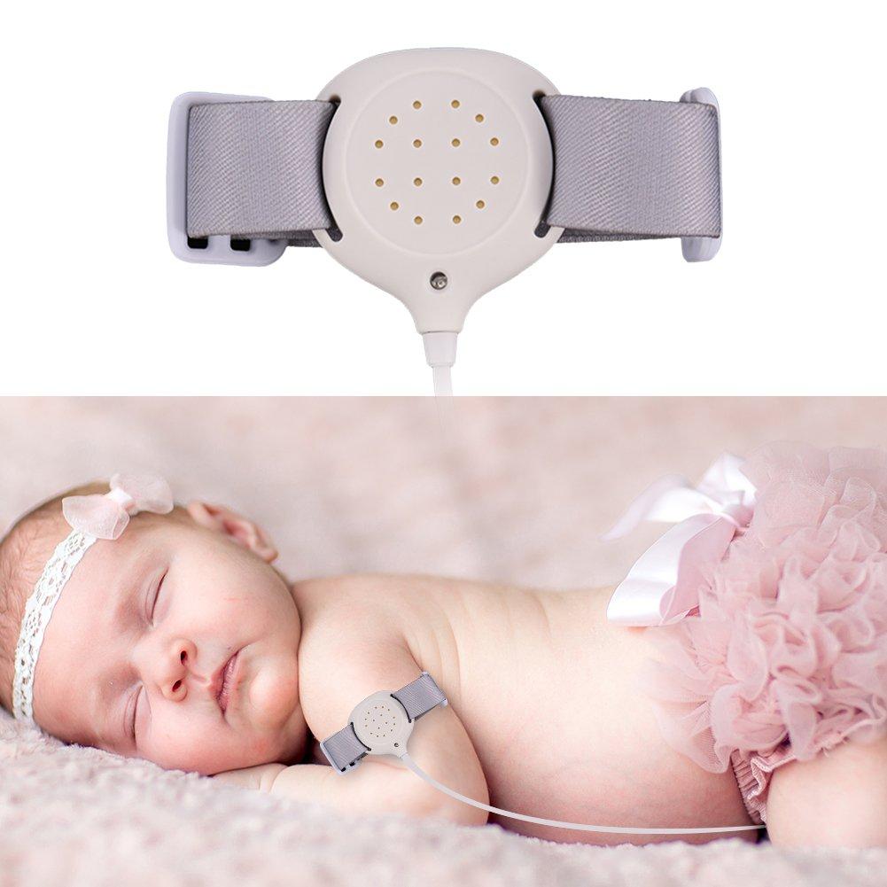 Alarma de ropa de cama para niños y niñas – verdadera fuente de alimentación Nocturnal Enuresis tratamiento de la noche de alarma. Sue Supply
