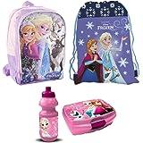 Disney Princess Prinzessin Cinderella 4 Teile Set RUCKSACK KINDERGARTEN Tasche