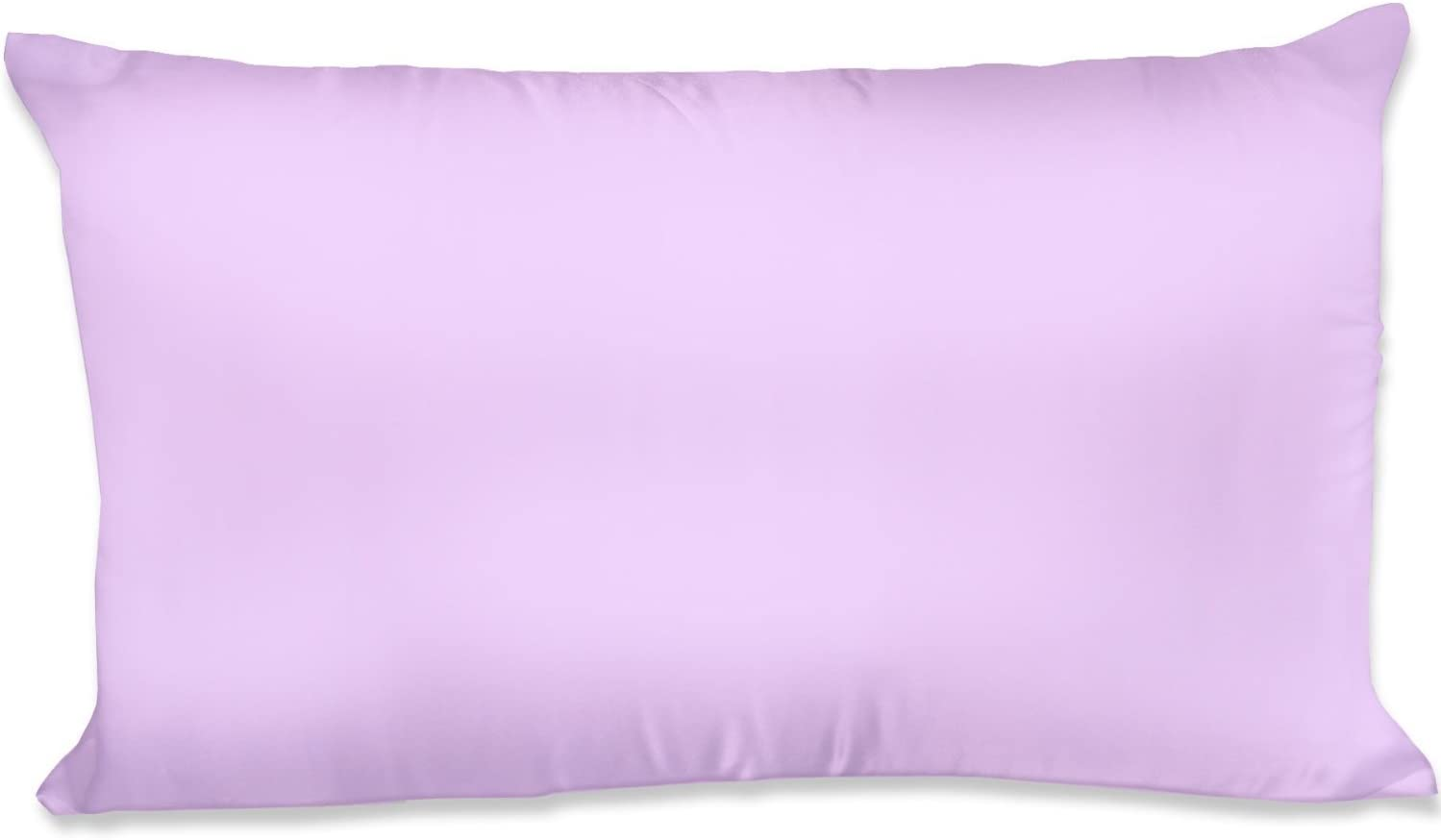 King 20x40 Lavender Spasilk Hair Beauty Satin Pillowcase