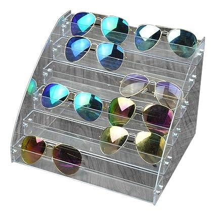 Fdit Organizador para Gafas de Sol Acrílico Vitrina para ...