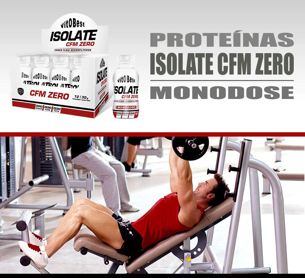 ISOLATE CFM 100% MONODOSIS 12 Uds./ 30 g VAINILLA ...