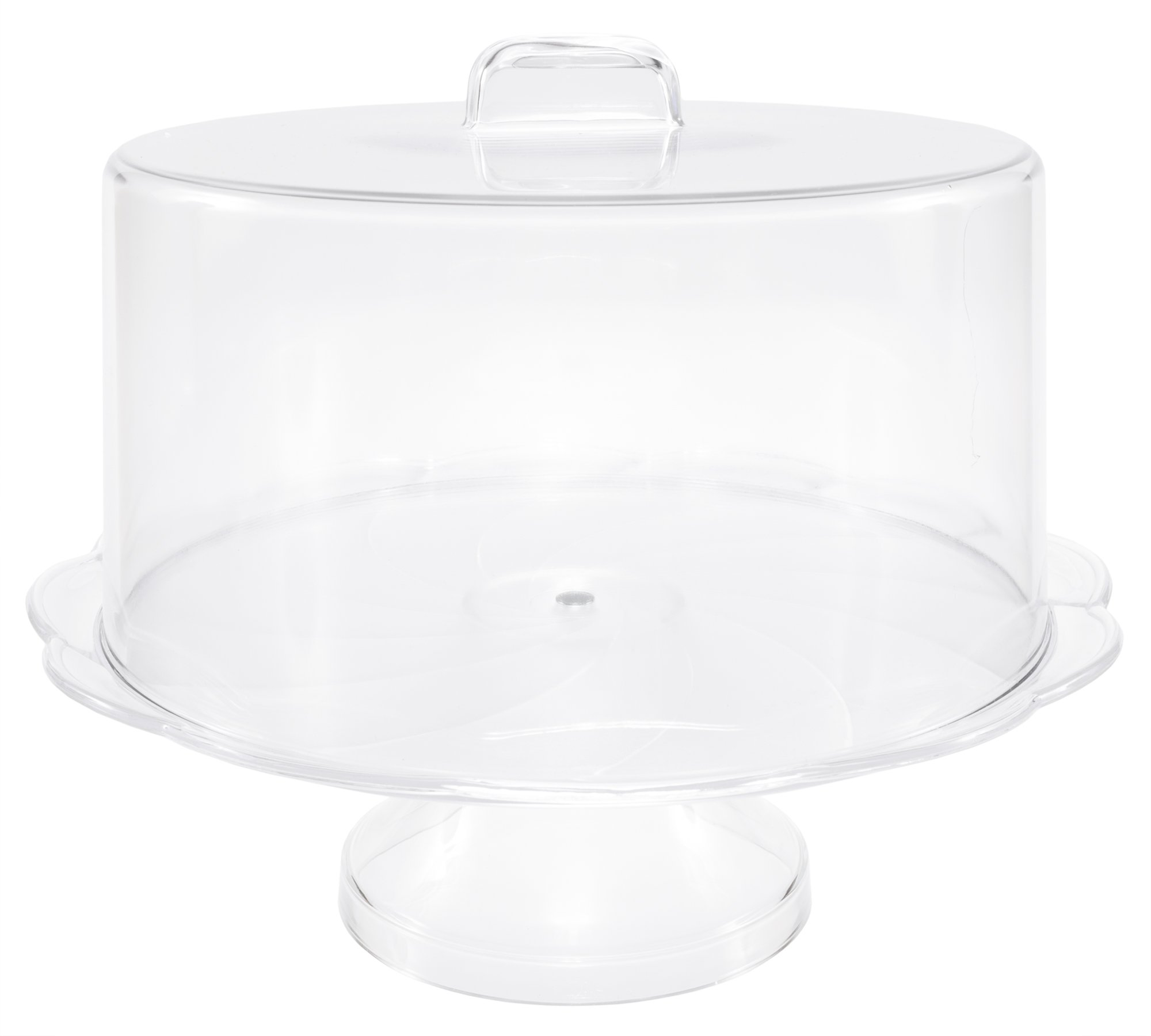 pedestal classic kitchen touch pdx cake classictouch wayfair glass with stand dome tabletop