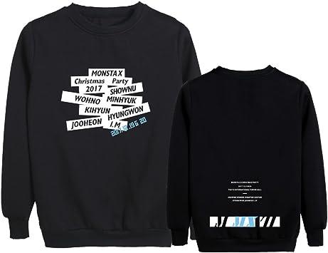 JUNG KOOK Kpop Monsta X The Connect Hoodie Kihyun Hyung Won I.M Minhyuk Won Ho Sweater