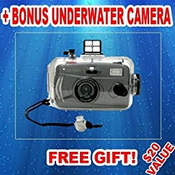 27 Pc Ultimate Deluxe Accessory Kit For the Canon ZR950 1.07mp Minidv Camcorder Canon ZR900 MiniDV Camcorder Canon ZR930 1.07MP MiniDV Camcorder + BONUS Gift = Waterproof Camera = Great For Kids