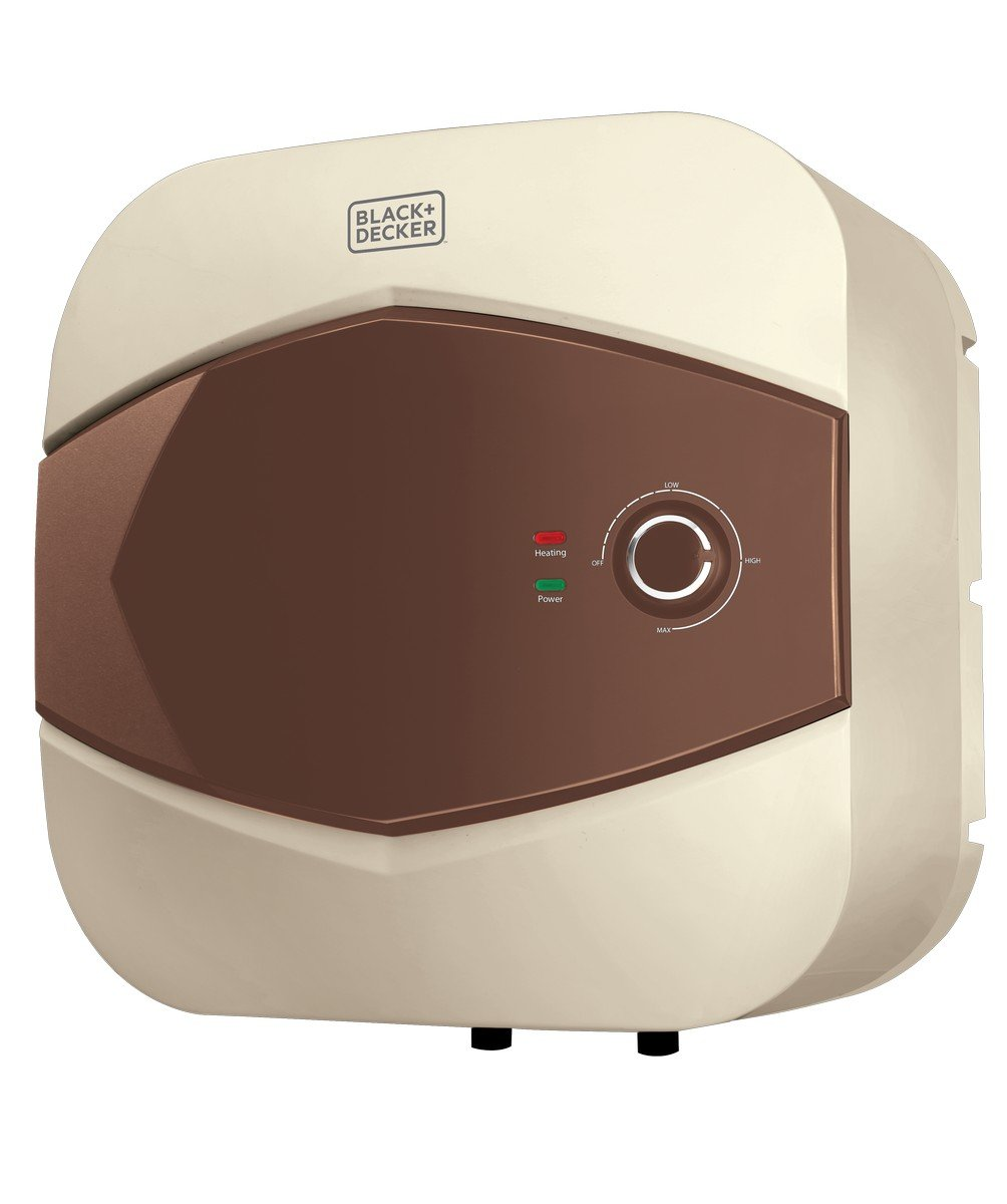Black + Decker 25L Storage Water Heater (Ivory)