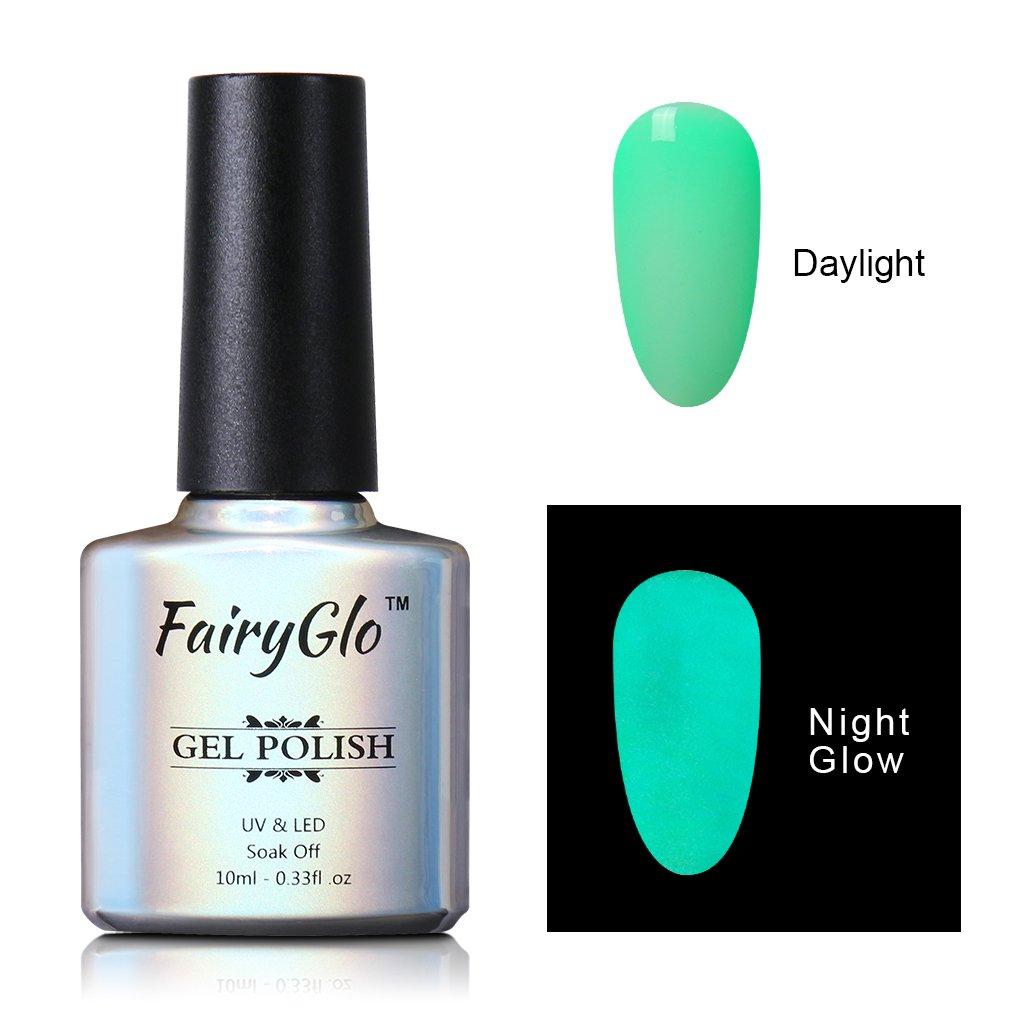 Amazon.com : FairyGlo Long Lasting Night Glow Gel Nail Polish Soak ...