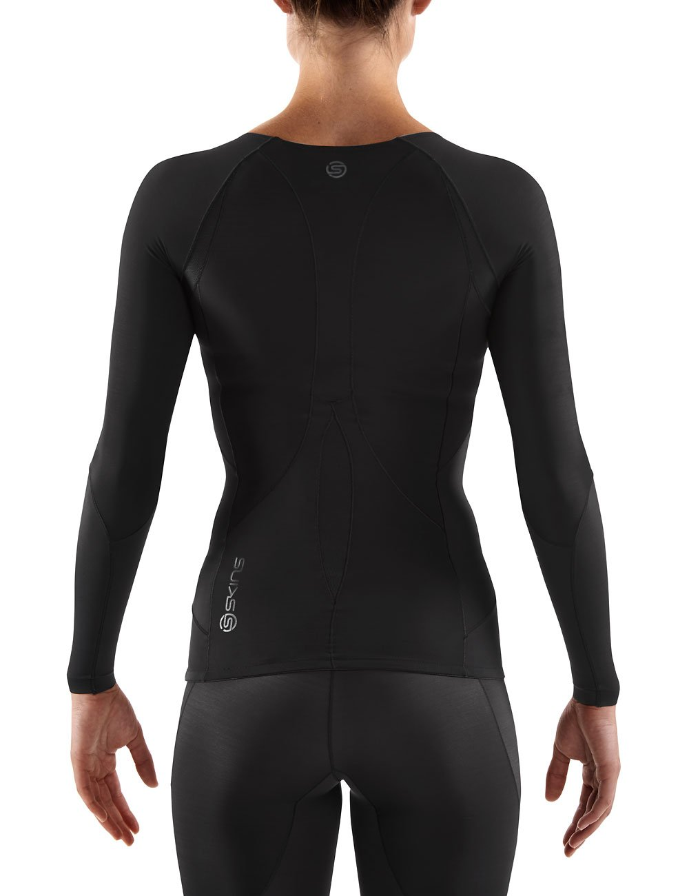 Skins Womens RY400 Compression Long Sleeve Recovery Top