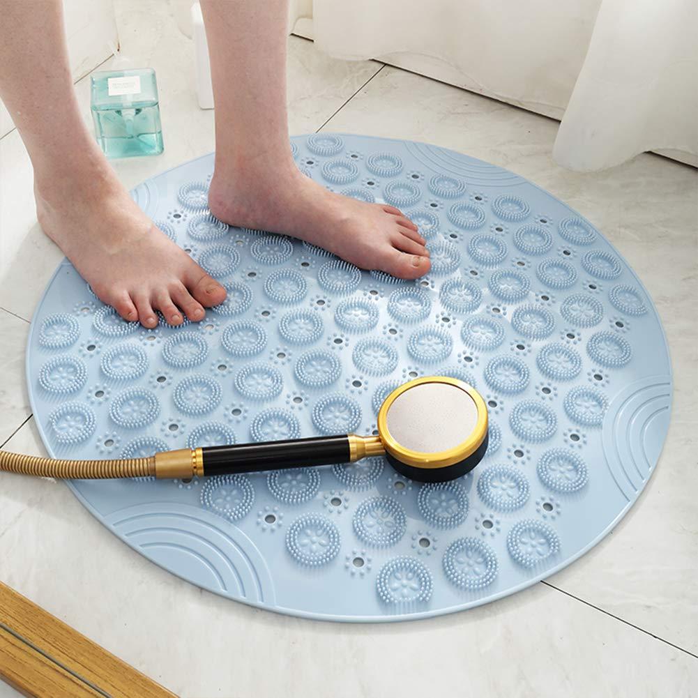 Amazon.com: REWQ Environmentally Friendly PVC Round Bathroom ...