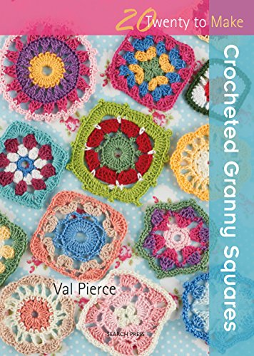 Crocheted Granny Squares (Twenty to Make) (Flower Series Kaleidoscope)