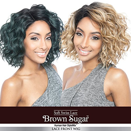 ISIS Human Hair Blend Wig Brown Sugar BS120 (SR2/HONEYASH)