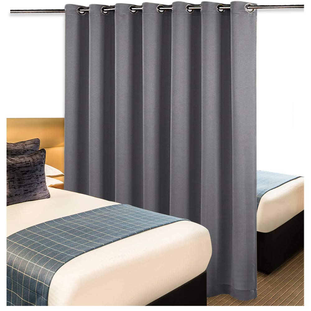 Nicetown Room Divider Curtain Screen Partitions Thermal Insulated